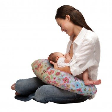 Boppy Slipcovered Nursing Pillow Review Breastfeeding Pillow - www.lovefrommim.com Pregnancy Pillow Maternity Pillow Breastfeeding Pillow