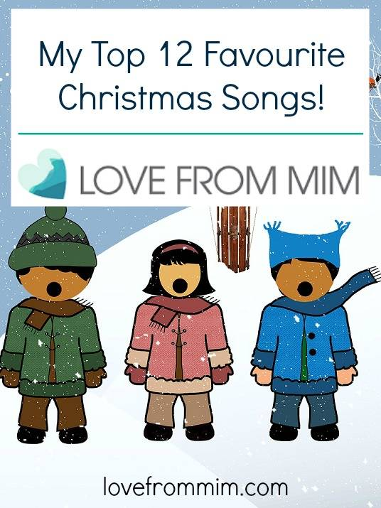 My Top 12 Favourite Christmas Songs - lovefrommim.com Christmas Pop Songs
