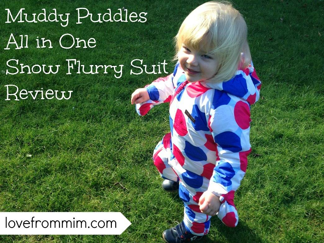 Muddy Puddles All in One Snow Flurry Suit Review - lovefrommim.com