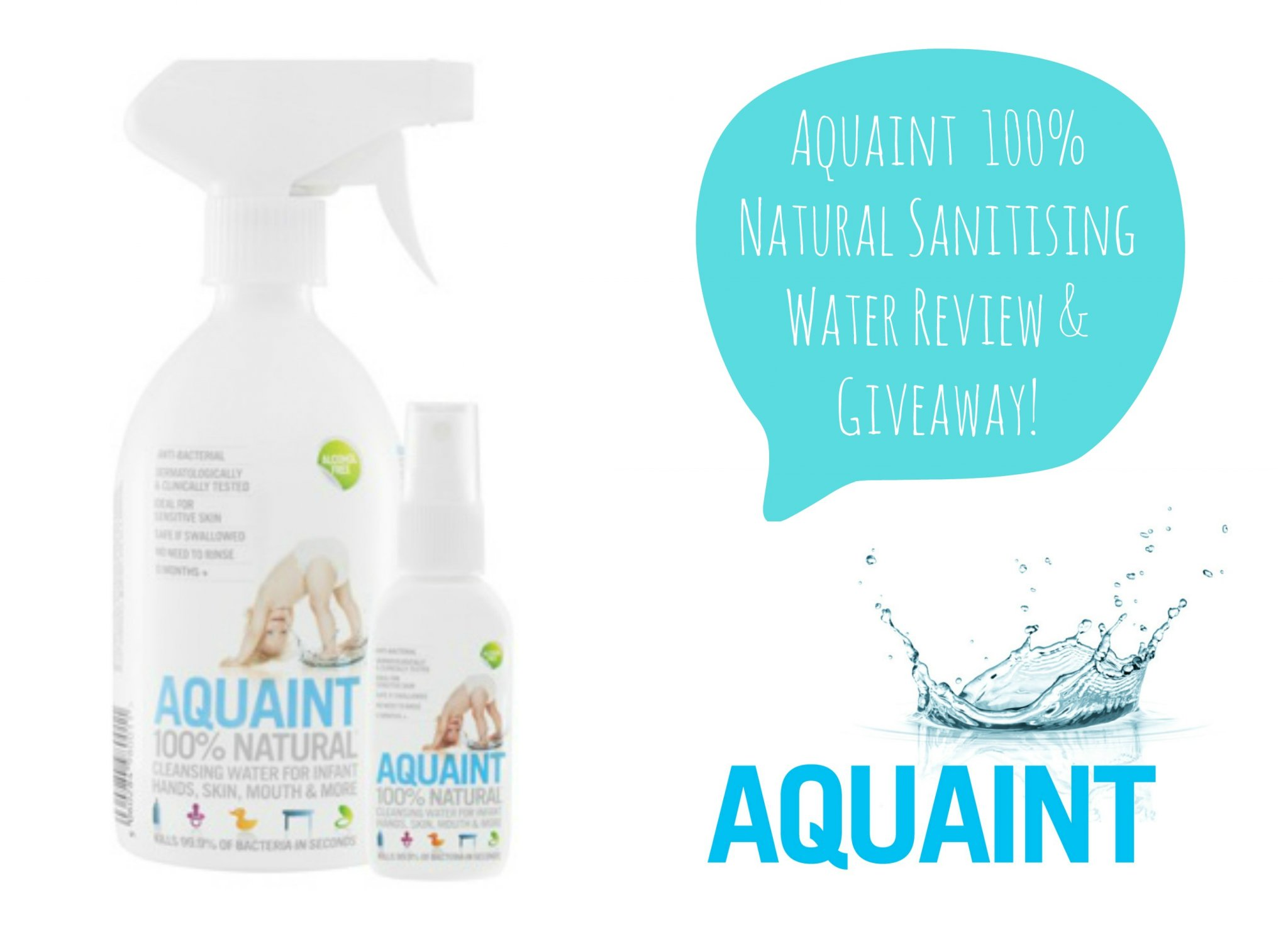 Aquaint Sanitising Water Review - lovefrommim.com