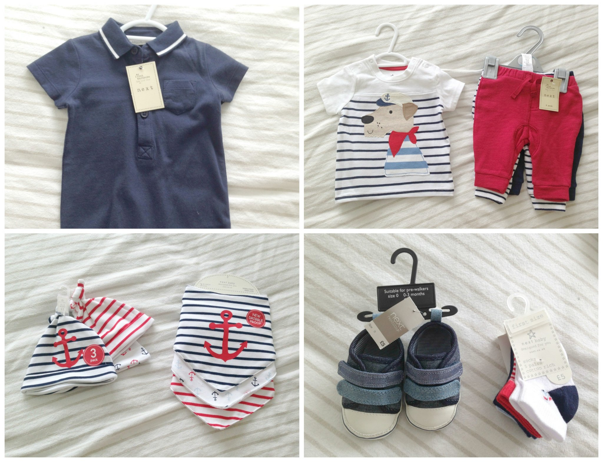 Newborn Baby Boy Clothing Haul from Next - lovefrommim.com
