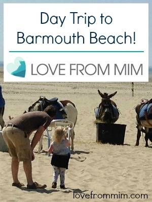 Day Trip to Barmouth Beach - www.lovefrommim.com