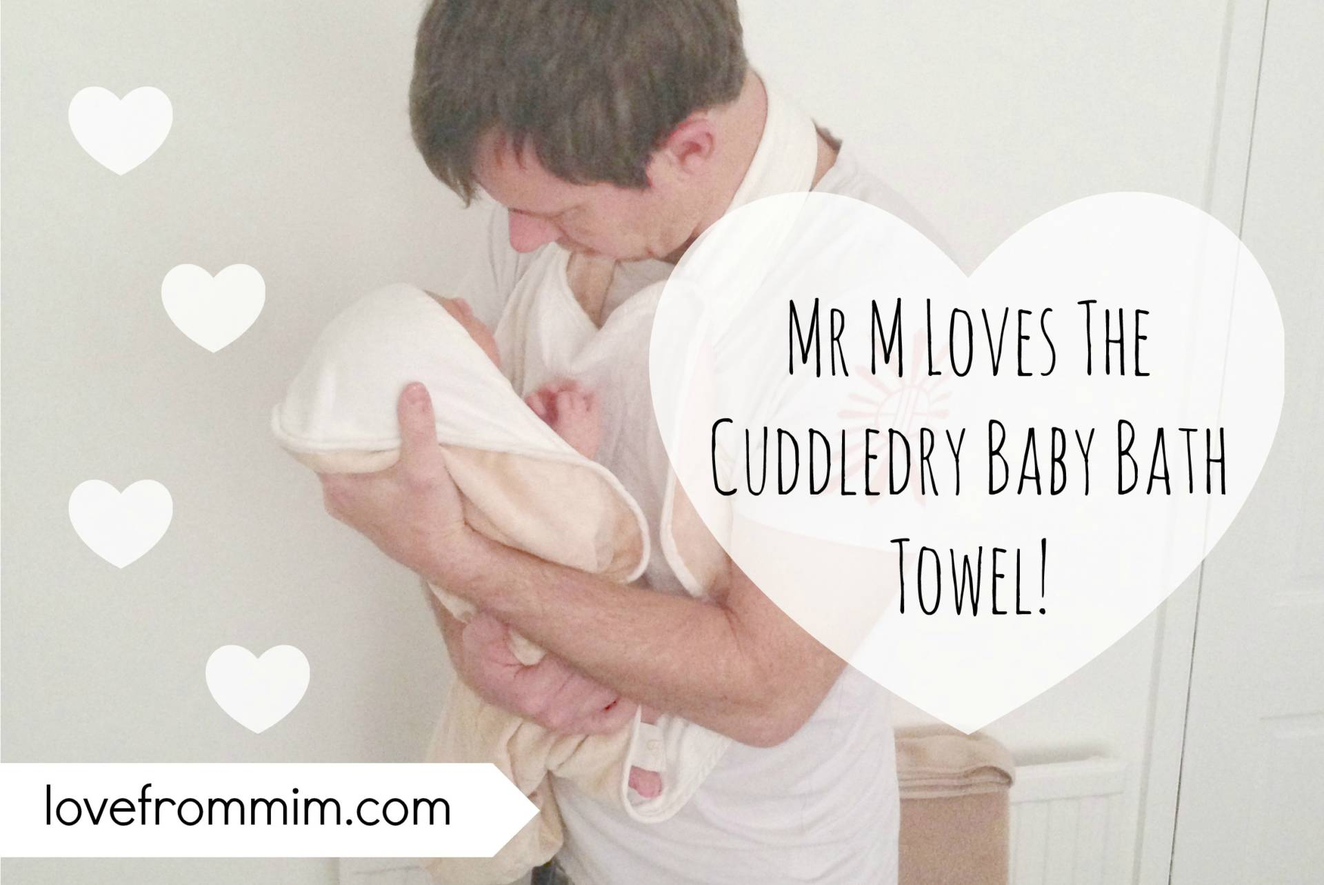 Father's Day Gift Ideas for New Dads - lovefrommim.com Fathers Day Gift Ideas Fathers Day Gifts Cuddledry Baby Bath Towel Cuddledry Apron