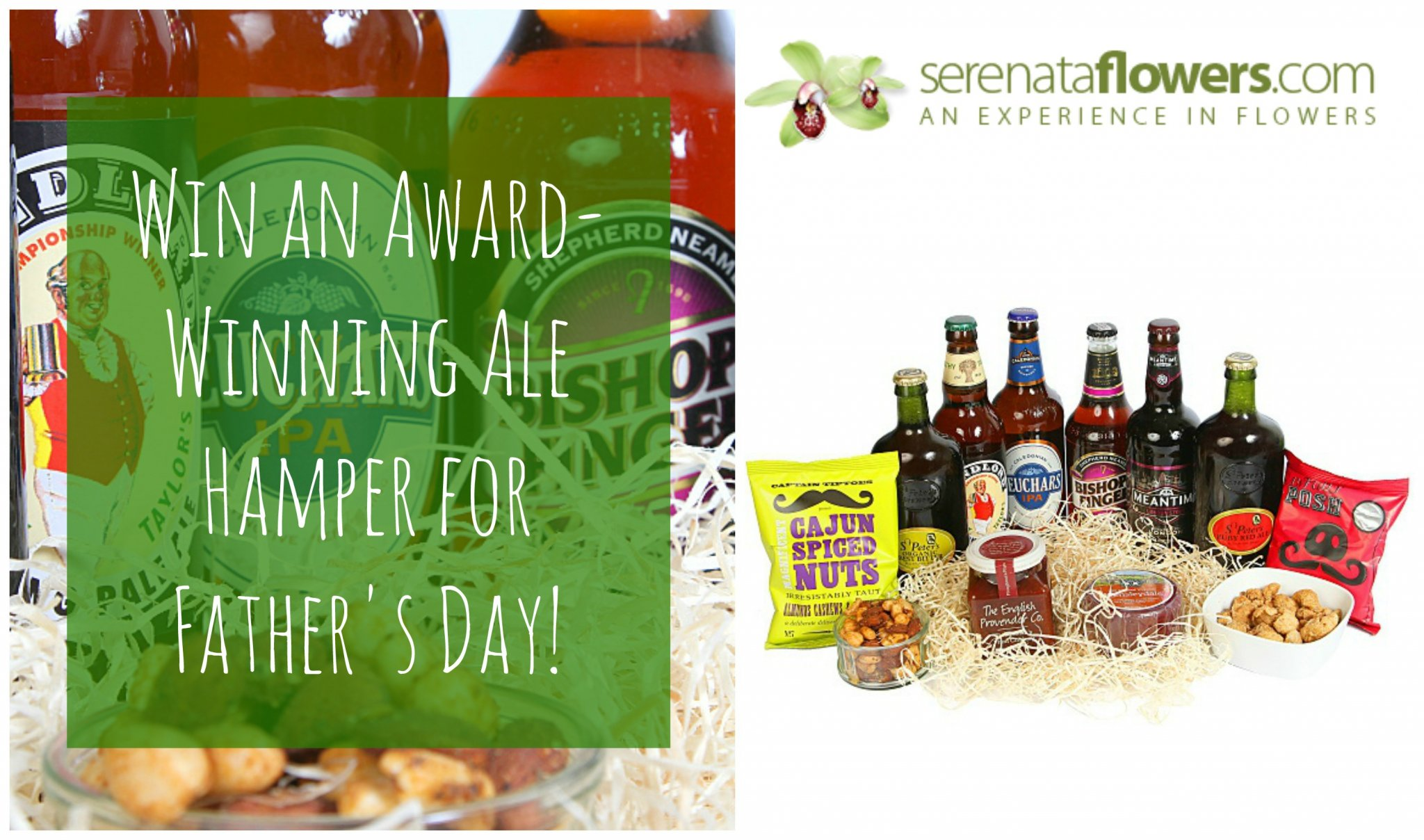 Win an Award-Winning Ale Hamper for Father's Day! www.mamamim.com