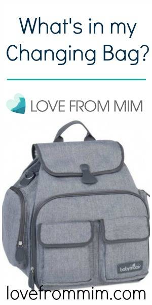 What's in my Changing Bag - lovefrommim.com Nappy Bag Baby Changing Bag What's in my Nappy Bag What to Pack in your Nappy Bag