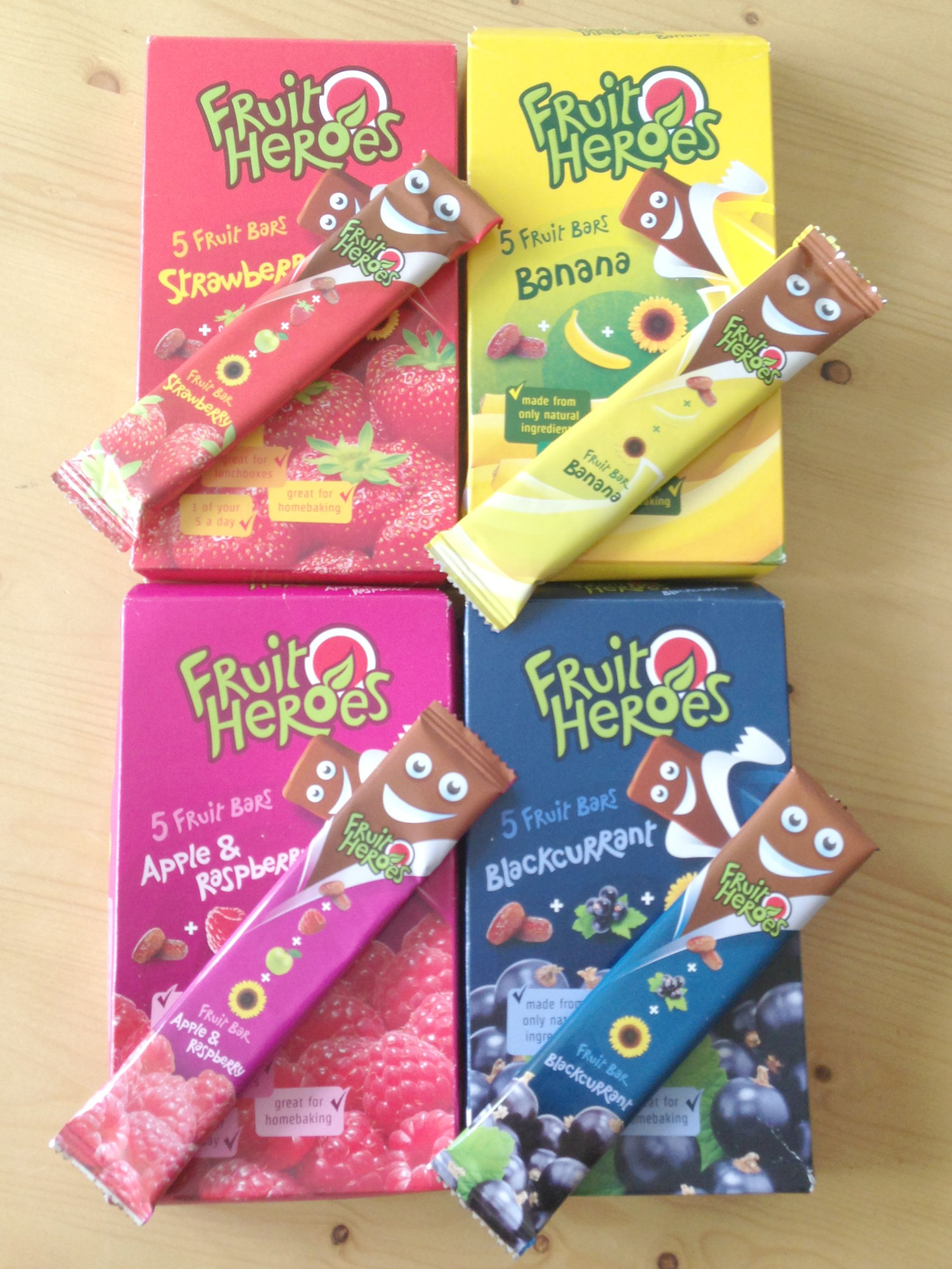 Fruit Heroes Fruit Bars Review - www.mamamim.com