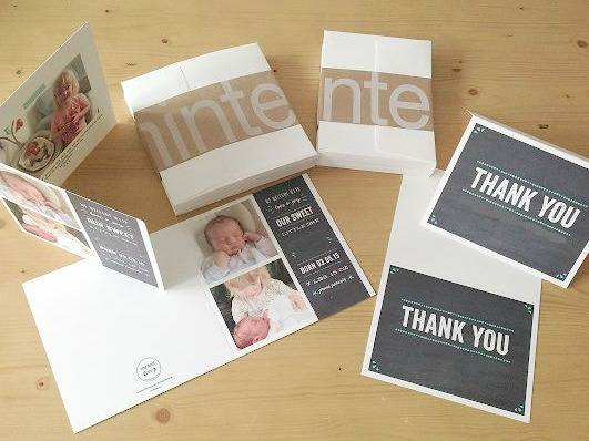 Minted Birth Announcement Cards Review - lovefrommim.com Baby Birth Announcement Cards How to announce your baby's birth