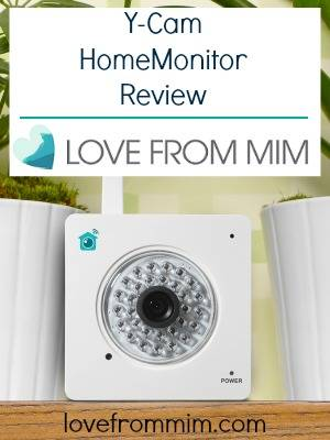 Y-Cam HomeMonitor Review and Giveaway! - lovefrommim.com Baby Video Monitor Review Benefits of using a Baby Video Monitor