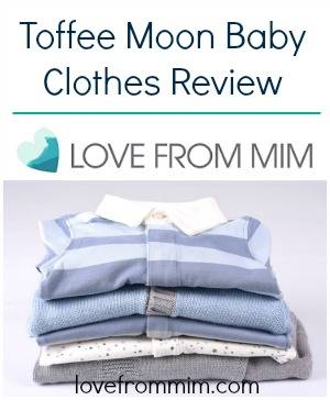 Toffee Moon Baby Clothes Review - lovefrommim.com Baby Clothing Toddler Clothing Organic Baby Clothing