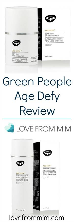 Green People Age Defy Review - lovefrommim.com Green People Age Defy Products Green People Skincare Anti-Aging Skincare