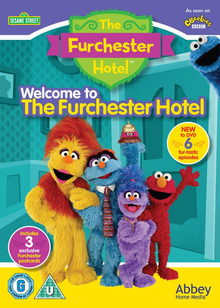 Welcome to the Furchester Hotel DVD Giveaway! lovefrommim.com Sesame Street DVD