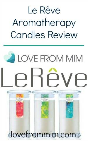 Le Rêve Aromatherapy Candles Review - lovefrommim.com