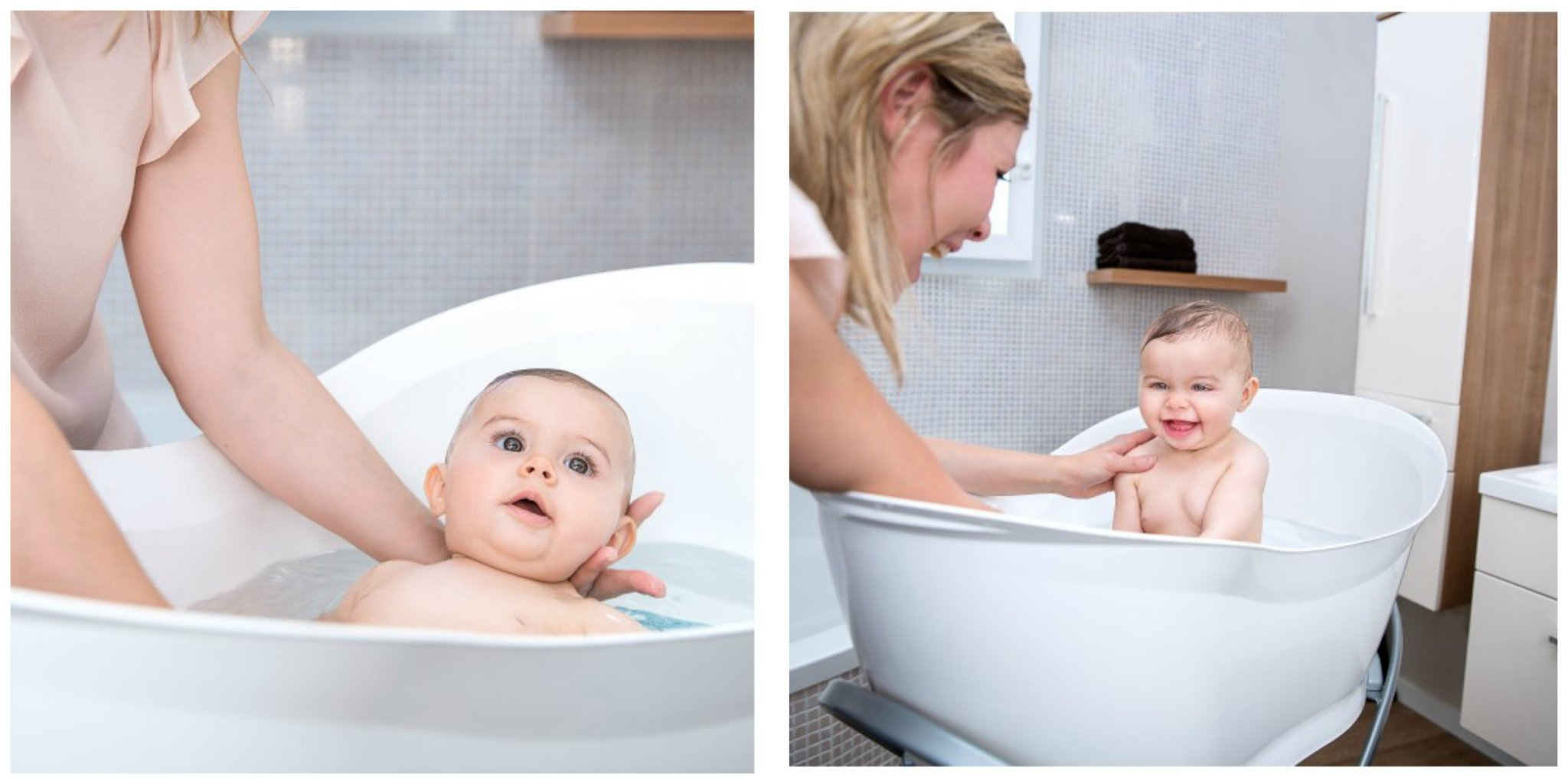 Babymoov Aquanest Baby Bath - lovefrommim.com How to bathe two Babies How to Bath Two Babies Bathing Two Babies Baby Bathtime