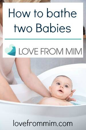 How to bathe two Babies - lovefrommim.com Aquanest Baby Bath How to bathe two Babies How to Bath Two Babies Bathing Two Babies Baby Bathtime