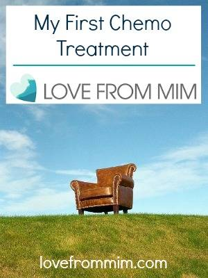 My First Chemotherapy Treatment - lovefrommim.com AC chemo to treat Triple Negative Breast Cancer diagnosis Mum with Cancer First Chemo Session