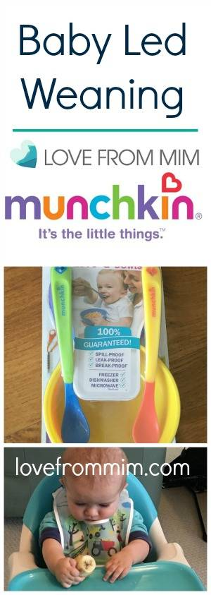 Baby Led Weaning First Foods with Munchkin! lovefrommim.com Introducing your baby to Solid Food Starting Solids with your Baby