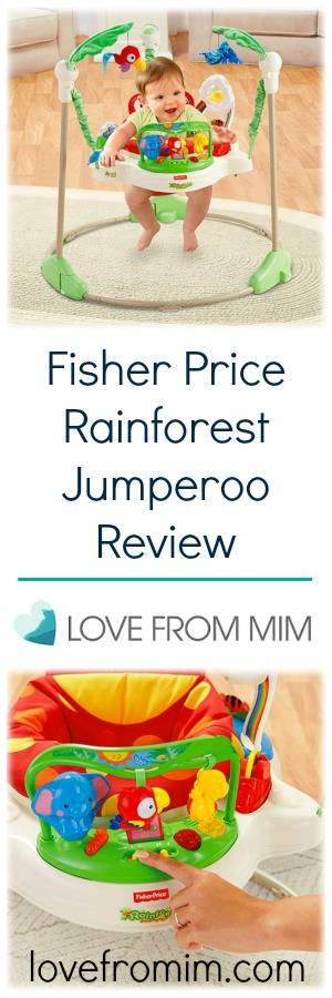 Fisher Price Rainforest Jumperoo Review - lovefrommim.com Fisher Price Jumperoo Baby Jumper Baby Toy