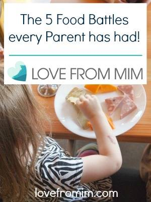 5 Food Battles every Parent has had! By Kylie Archer at Kidgredients - lovefrommim.com Kids Food Baby Food Kids Mealtime Fussy Eaters Picky Eaters