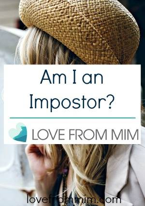 Am I an Impostor? lovefrommim.com Triple Negative Breast Cancer Diagnosis AC Chemotherapy Triple Negative Breast Cancer Treatment