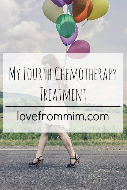 My Fourth Chemotherapy Treatment - www.lovefrommim.com - AC Chemo, Paclitaxel, Taxol, Triple Negative Breast Cancer Mum with Cancer Mummy Blogger Mommy Blogger