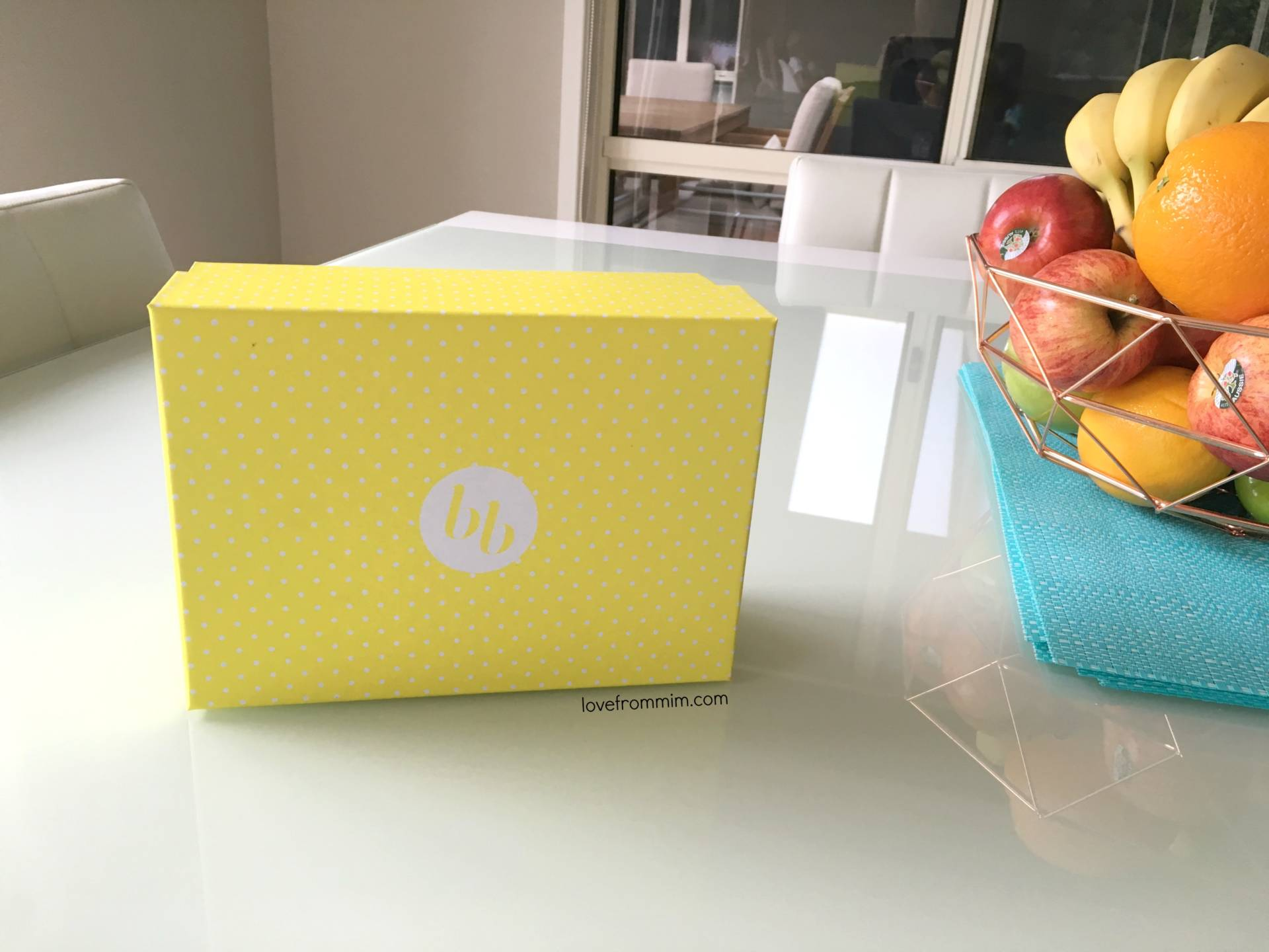 BellaBox BellaBaby Unboxing for April 2016 + Video! lovefrommim.com Monthly subscription box for mums and babies