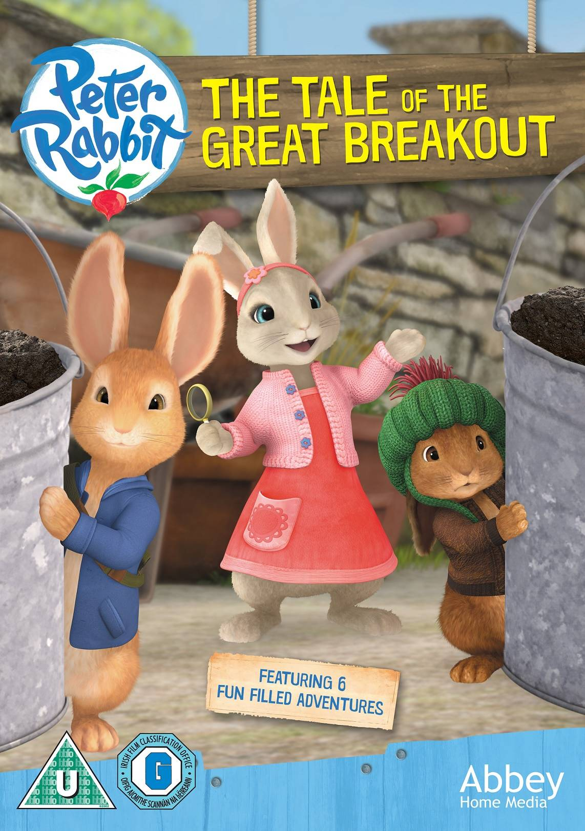 Peter Rabbit The Tale of the Great Breakout DVD Giveaway - www.lovefrommim.com