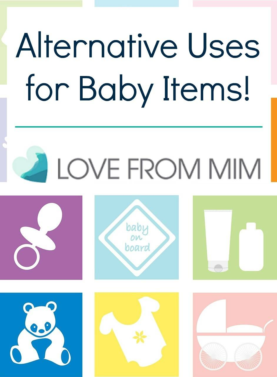 Alternative Uses for Baby Items - lovefrommim.com Baby Products Reusing Baby Items Reusing Baby Products Repurposing Baby Things Baby Wipes for Cleaning How to Reuse Baby Items How to Repurpose Baby Items