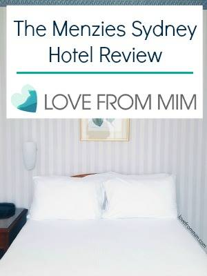 The Menzies Sydney Review - lovefrommim.com Sydney Hotel Where to stay in Sydney Accor Hotels
