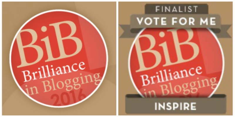 BritMums Brilliance in Blogging Awards 2016 BiBs2016 - lovefrommim.com Blogging Awards Parenting Blogger Mummy Blogger Mommy Blogger Vote for Me Love from Mim Inspire Category