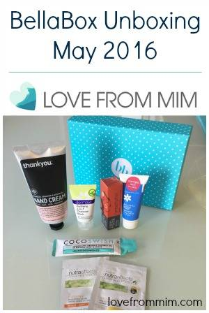 BellaBox Unboxing May 2016 - lovefrommim.com Beauty Monthly Subscription Box Beauty Box BellaBox Beauty Box