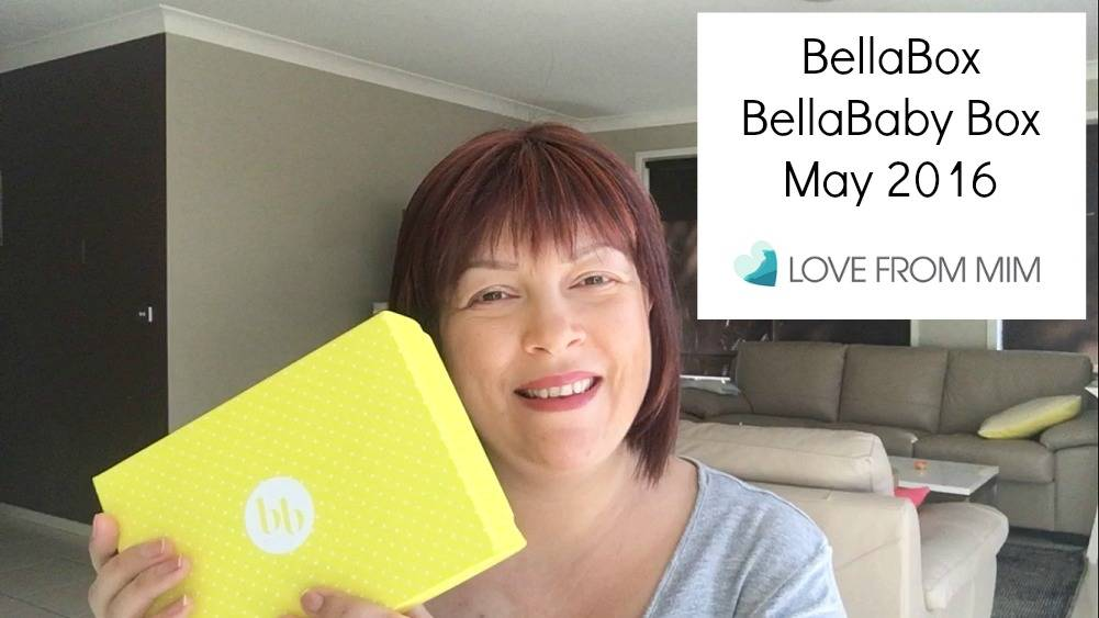 BellaBox BellaBaby May 2016 - Unboxing + Video! lovefrommim.com Bella Box Bella Baby Box Unboxing Products for Mums Products for Babies Baby Products New Mum Products Monthly Subscription Box