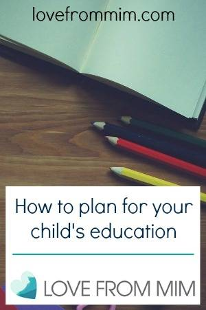 How to plan for your child's education - lovefrommim.com ASG Pathway Education Fund Saving for your child's future Family Savings Planning your child's future Paying for your child's education Family Finances