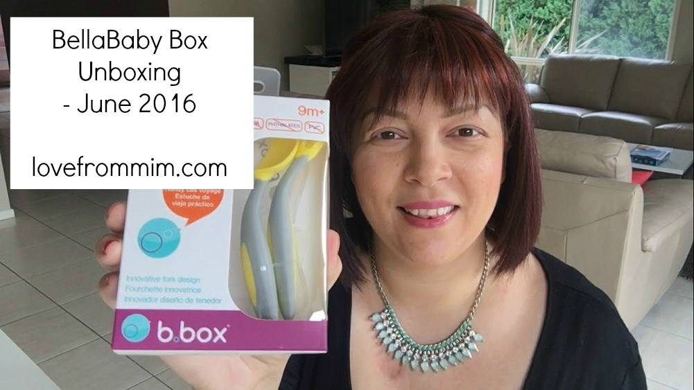 BellaBox BellaBaby Box June 2016 - Unboxing + Video! lovefrommim.com Bella Box Bella Baby Box Unboxing Products for Mums Products for Babies Baby Products New Mum Products Monthly Subscription Box