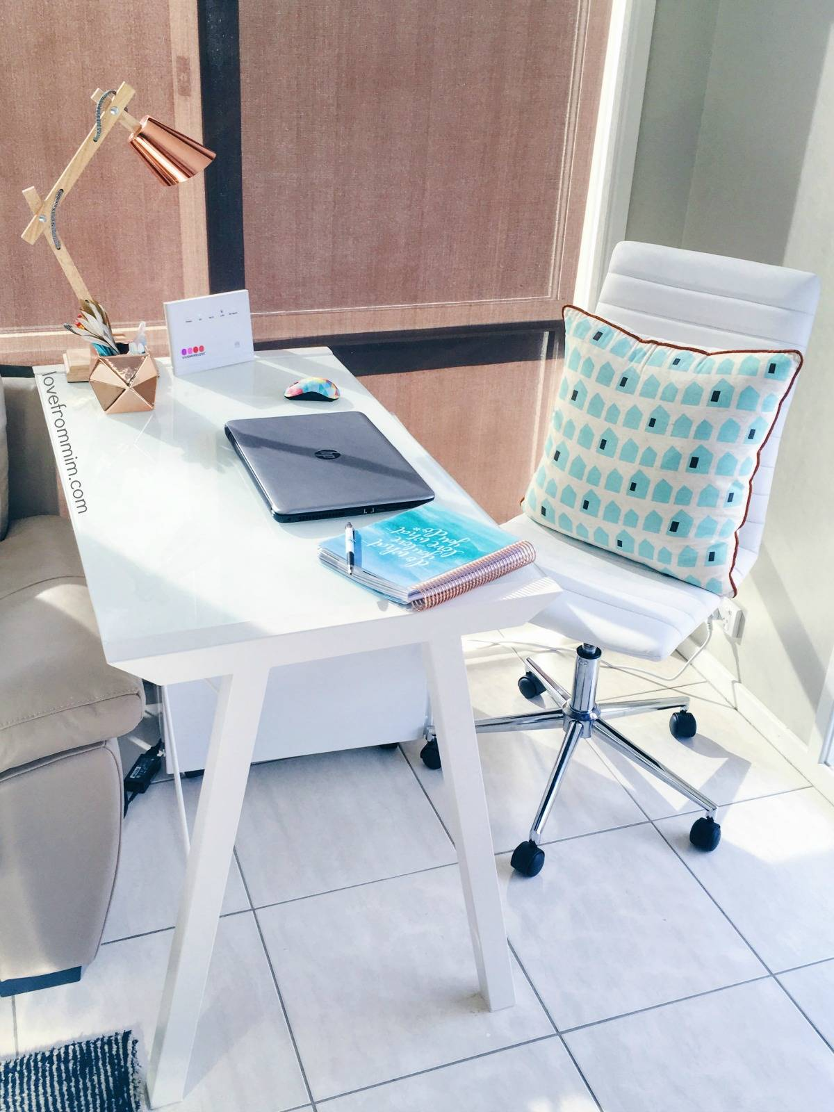 My Home Office Workspace - lovefrommim.com Home Office Tour Desk Tour Bloggers Workspace Bloggers Home Office Mummy Blogger Lifestyle Blogger