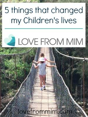 5 things that changed my children's lives By Kylie Travers - lovefrommim.com Helping children through change Divorce Domestic Violence Parenthood Advice Single Parent #MyFiveThings