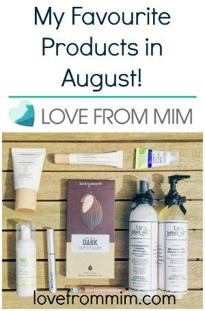 August Favourites 2016 - lovefrommim.com At Home Pampering Products At Home Spa Organic Skincare Chemical Free Skincare Favourite Beauty Products