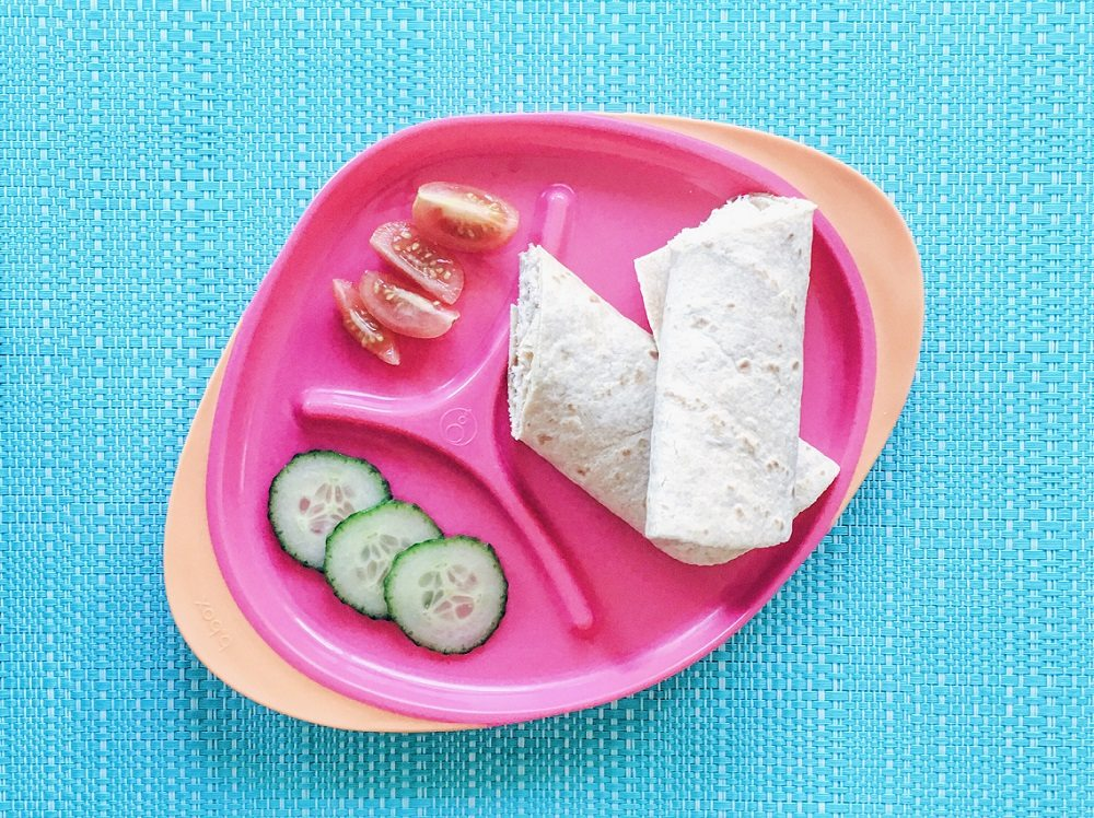 3 Easy Toddler Meals - lovefrommim.com Cooking for Kids Baby Meal Ideas Baby Led Weaning Meal Ideas Easy Toddler Recipes Easy Kids Meal Ideas Tuna Wrap Kids Recipe