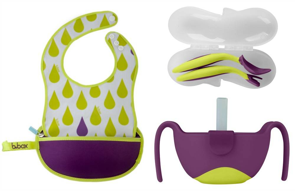 """Win an """"On the Go"""" b.box Prize Pack! lovefrommim.com Fun in Functional Baby Cutlery Toddler Cutlery"""
