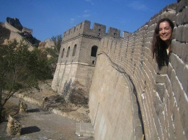 How I met my Husband - Part 1 lovefrommim.com Great Wall of China Travel to Beijing Round the World Trip