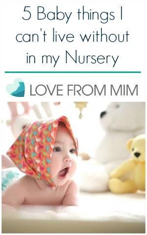 5 Baby things I can't live without in my Nursery Essential Things for Babies Essential Nursery Items Getting the house ready for a Baby Essential Baby Products to buy