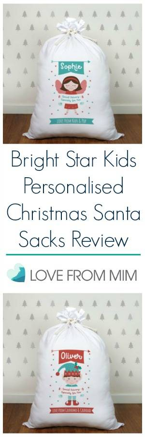 Bright Star Kids Personalised Santa Sacks for my Little Elves! lovefrommim.com Personalised Christmas Sacks Personalised Christmas Stockings Bright Star Kids Santa Sacks Bright Star Kids Christmas Range Personalised Christmas Santa Sacks