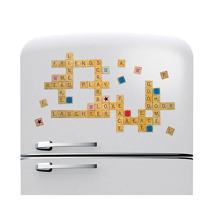 Christmas Gift Ideas for Dads + win a $150 Gift Card! lovefrommim.com Love from Mim Yellow Octopus Scrabble Fridge Magnets