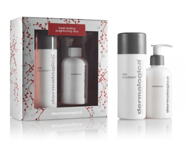 3 Christmas Beauty Set Ideas + a Giveaway! lovefromim.com Love from Mim Dermalogica Brightening Duo Set Dermalogica Daily Microfoliant Dermalogica Pre Cleanse Dermalogica Skincare Set Beauty Gift Set Christmas Beauty Gift Set