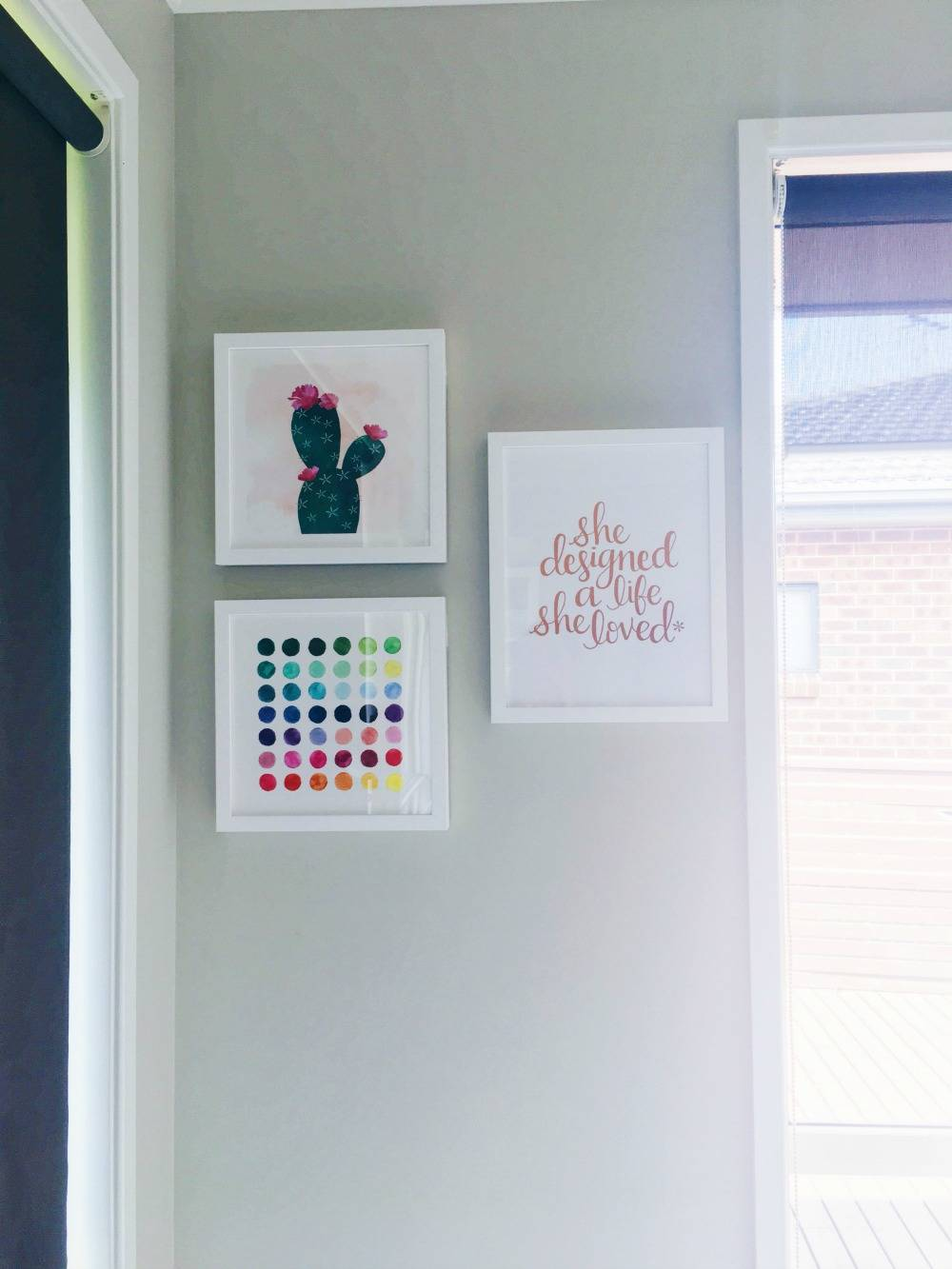 Colourful additions to my Home Office Work Space!