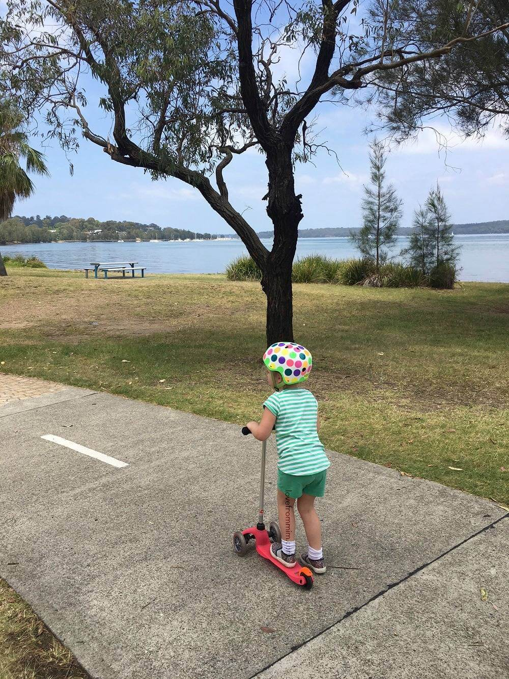 Best Places to Scoot: Warners Bay, NSW - lovefrommim.com Love from Mim Best places to scoot in Newcastle Best places to scoot in NSW Best places to scoot near Sydney Micro Scooters Review Micro Scooters Mini Micro Deluxe Review Where to scoot with kids in NSW Warners Bay Foreshore