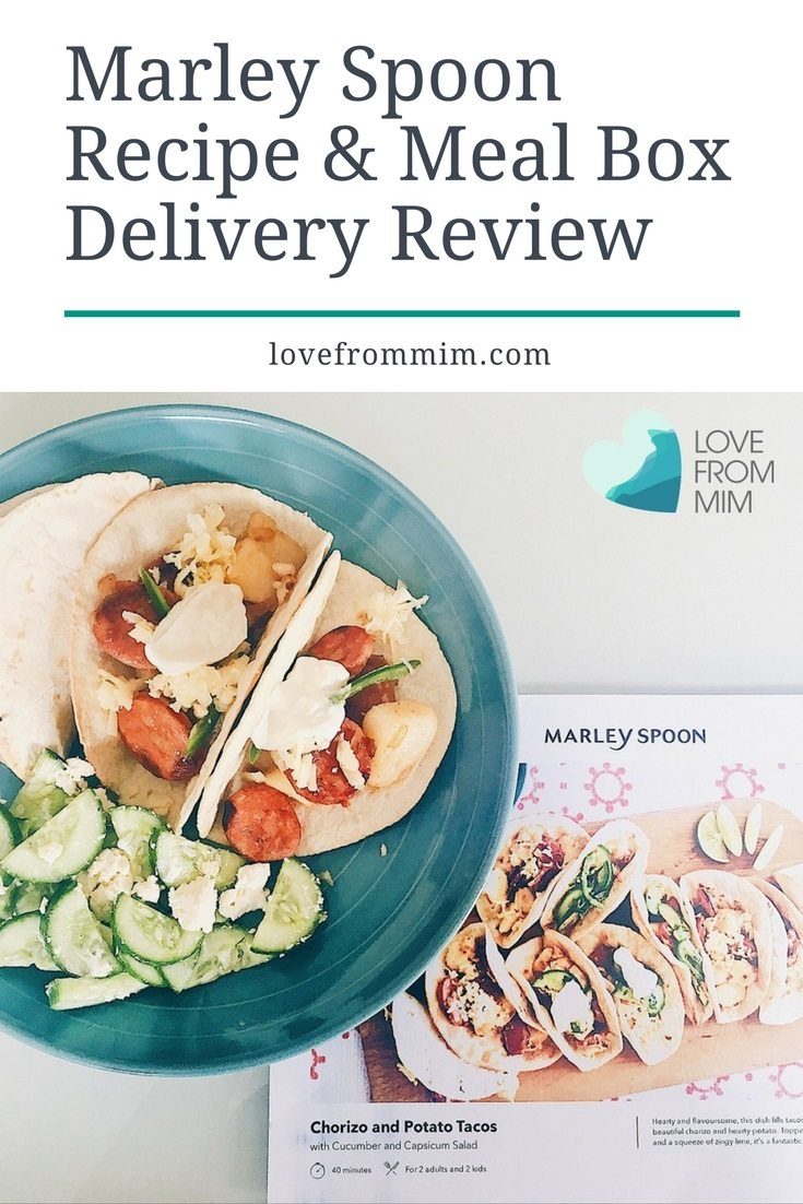 Marley Spoon Recipe and Meal Box Delivery Review