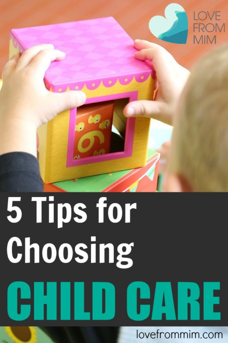 5 Tips for choosing Child Care - lovefrommim.com Love from Mim How to choose child care, How to choose day care, Kids, Babies, Baby, Children, Day Care, Child Care, Maternity Leave, Returning to work after Maternity Leave, Family Day Care, How to find the best child care, Mum, Motherhood, New Mum, Parents, Parenting, Parenthood