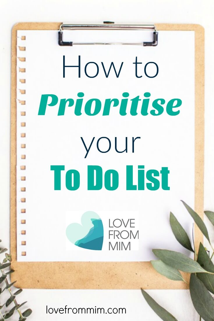 How to Prioritise your To Do List