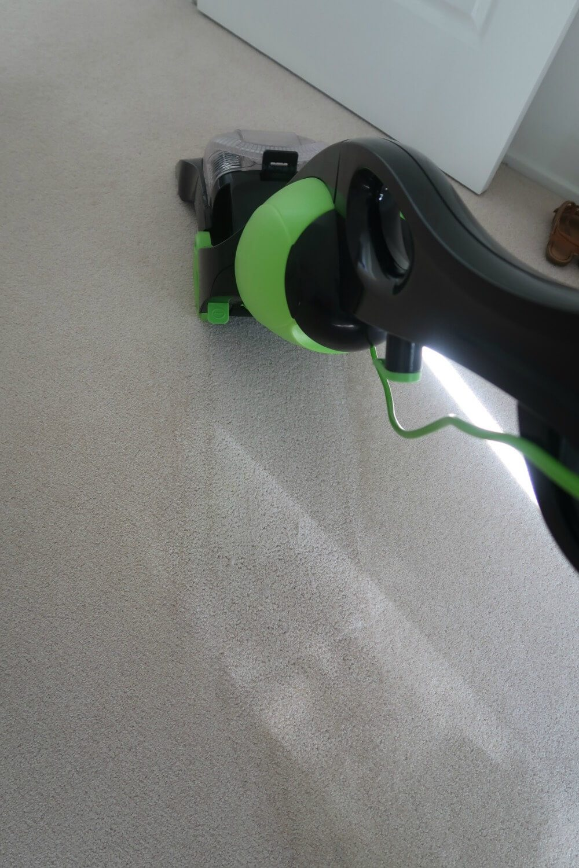 Clean carpet after using Wertheim SE2000 Deep Clean Carpet Shampooer