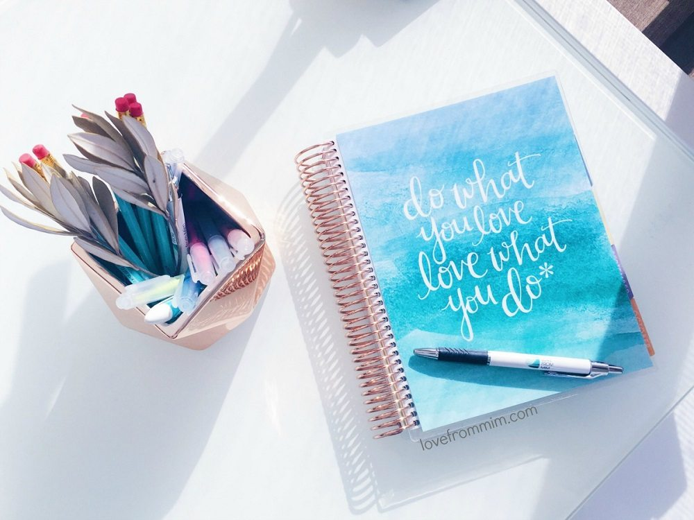 How to Plan your Day with an Erin Condren LifePlanner